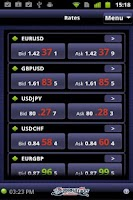 Screenshot of LION Android Trader