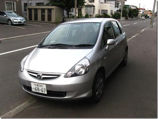 Honda Fit 1.3A 4WD