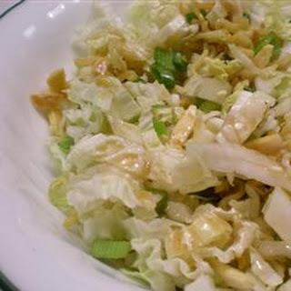 Chinese Napa Cabbage Salad