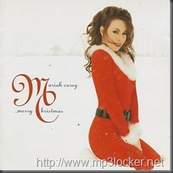 MariahCarey-MerryChristmascover