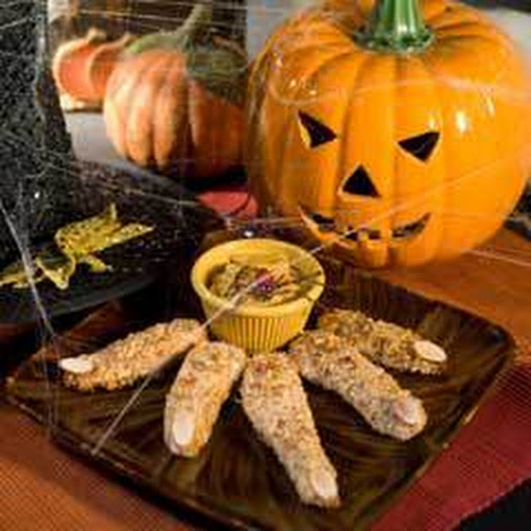 Halloween Chicken Fingers