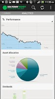 Screenshot of USA TODAY Portfolio Tracker