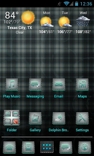 Plaid Apex Nova Theme