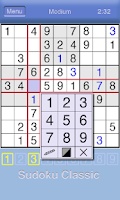Screenshot of Sudoku Classic