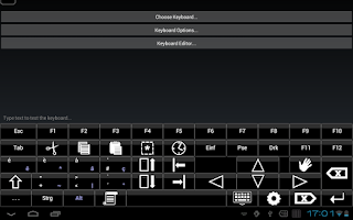 Screenshot of Bright Keyboard Demo