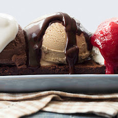 The Ultimate Brownie Sundae