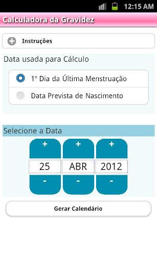 Calculadora Gravidez PTv7D