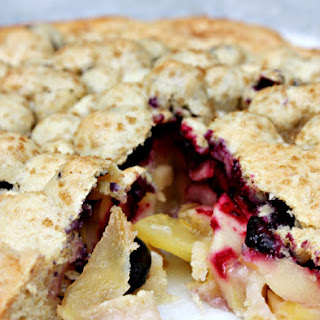 Apple & Blueberry Shortcake