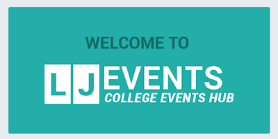 Screenshot of LJ Events