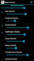 Screenshot of Sleep Sounds
