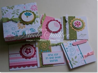 Petals & Paisley 3 x 3 Origami Box & Cards