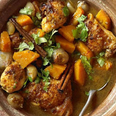 North African chicken tagine