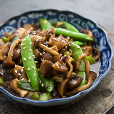 Sweet and Spicy Mushroom Stir Fry