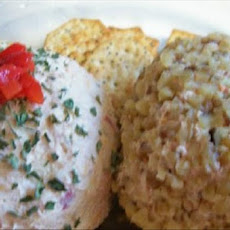 Super Amazing Deviled Ham Cheese Ball