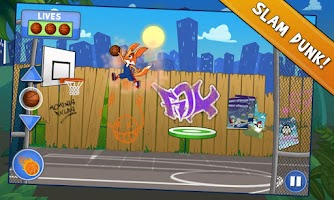 Screenshot of Jimmy Slam Dunk