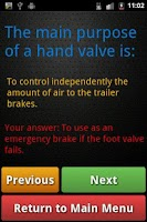 Screenshot of Air Brake Endorsement ICBC