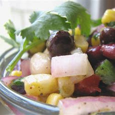 Mexican Bean, Pepper And Sweetcorn Salad