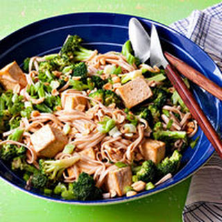 Nutty Tofu Noodles