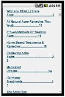 Screenshot of Acne Free in 3 Days