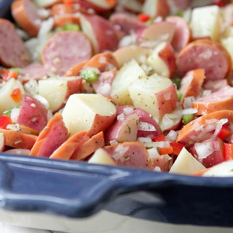 Hillshire Farm Sausage and Potato Bake