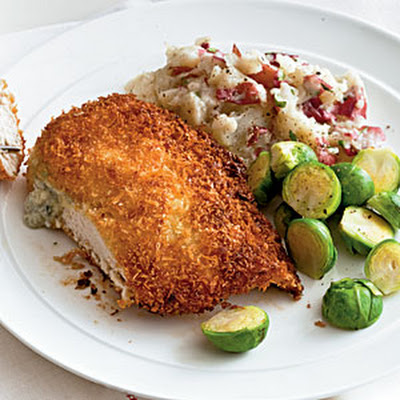 Blue Cheese-Stuffed Chicken with Buffalo Sauce