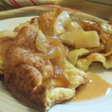 Apple Puff Pancake