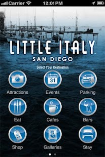 San Diego's Little Italy - screenshot