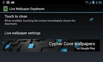 Screenshot of Live Wallpaper Daydream