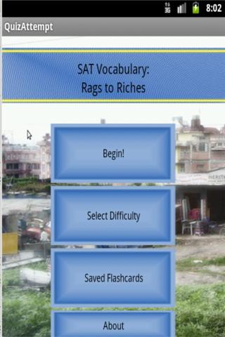 SAT Vocabulary: Rags to Riches