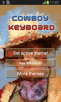 Screenshot of Cowboy Keyboard
