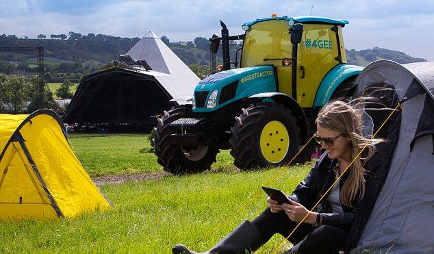Wifi Tractor Glastonbury