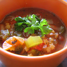 Vegetable Minestrone - Slow Cooker