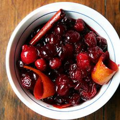 Cranberry Red Wine Relish