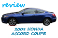 2008 Honda Accord Copue, Belize Blue Pearl