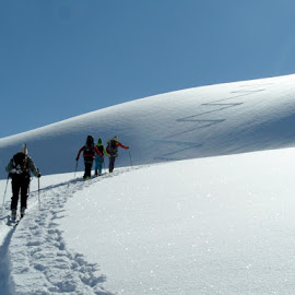 Ski touring by Igor Gruber - Sports & Fitness Snow Sports ( ski touring,  )