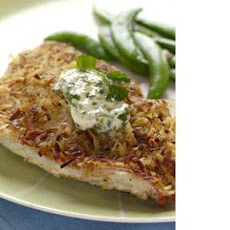 Coconut-​Crusted Red Snapper