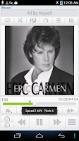 Screenshot of StarPlayer for audio book