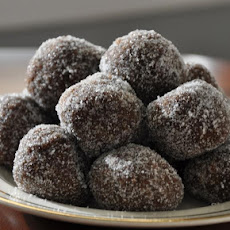 Ginger Plum Brandy Balls