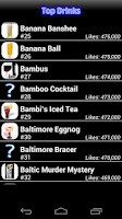 Screenshot of Mr. Bartender Drink Recipes