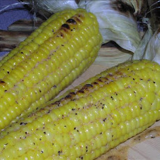 Grilled Corn on the Cob with Zesty Butter