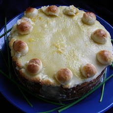 Traditional British Mothering Sunday Simnel Cake