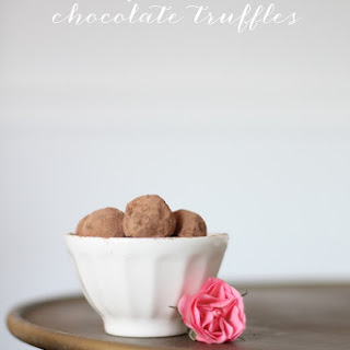 Chocolate Wine Truffles