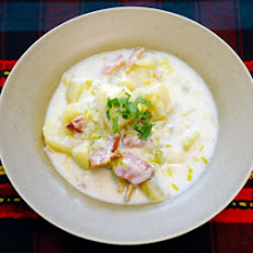 Creamy Potato Leek Soup II