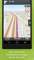 Screenshot of Wisepilot for XPERIA™