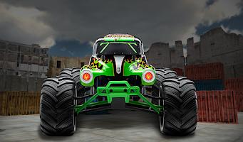Screenshot of Monster Truck Parking 3D