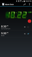 Screenshot of Alarm Clock Free