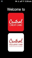 Screenshot of Central Credit Card
