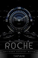 Screenshot of ROCHE Designer Clock Widget