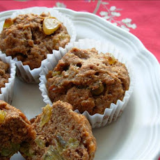 Whole Wheat Breakfast Muffins
