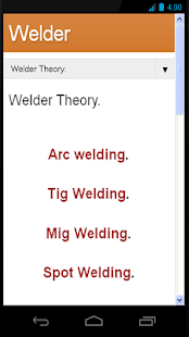 Welder Theory - screenshot